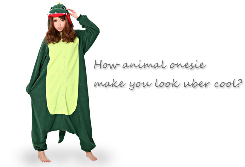 How animal onesie make you look uber cool?