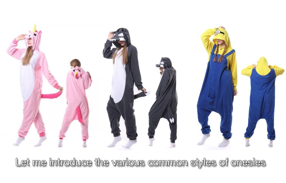 Let me introduce the various common styles of onesies