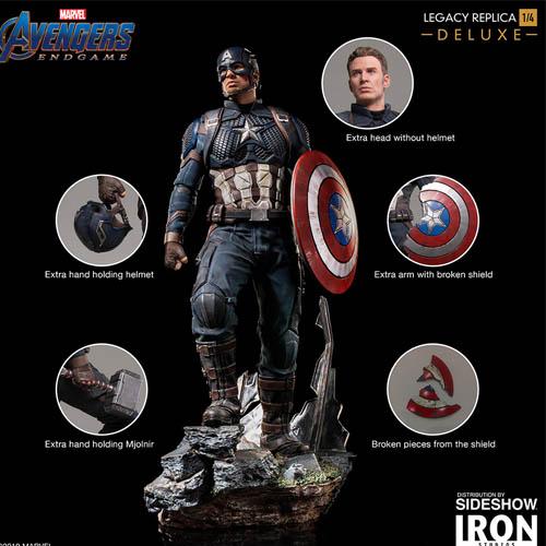 captain america toys endgame edition