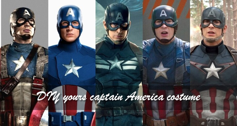 2019 Halloween cosplay ideas – diy yours captain America costume