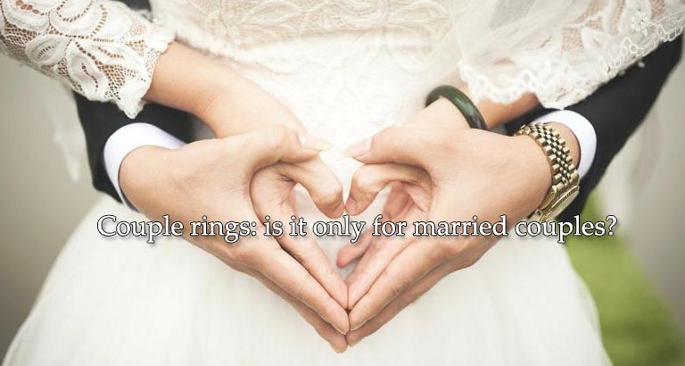 Couple rings: is it only for married couples?
